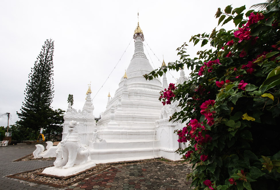 Mae Hong Son : temple